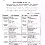 Telangana Inter 1st & 2nd Year Public Examinations Time Table March 2017 @ bie.telangana.gov.in