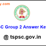 TSPSC Group 2 Answer Key 2016 Official with Answers, Cut off marks Released @ tspsc.gov.in