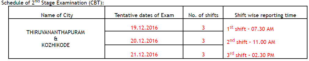 rrb-schedule-of-2nd-stage-examination-cbt