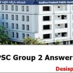 APPSC Group 2 Answer Key 2017 Download For 26th Feb Exam SET A, B, C, D Screening Test @ psc.ap.gov.in
