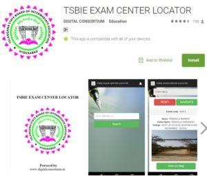TSBIE Exam Center Locator APP Download – Telangana Intermediate Board launches 'centre locator app'