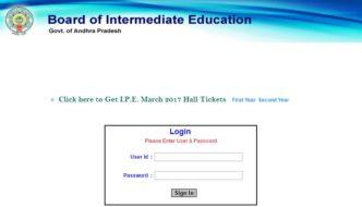 AP Inter 1st & 2nd Year Hall Tickets 2018 Download @ jnanabhumi.ap.gov.in, Manabadi.com