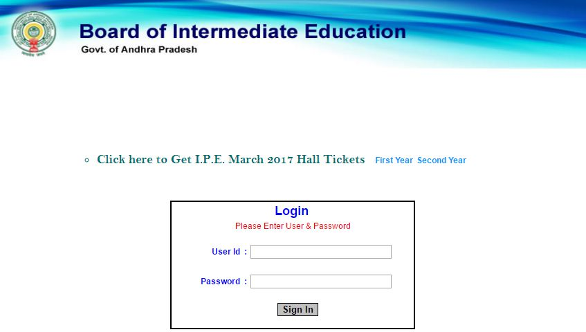 ap inter 1st-2nd year hall tickets