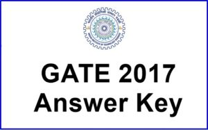 GATE 2017 Answer Key Available Now – Check Branch wise All Papers Key @ gate.iitr.ernet.in