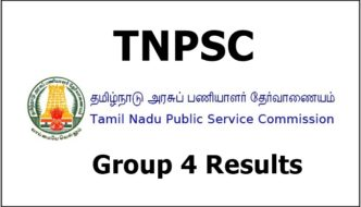 TNPSC Group 4 Results 2016 Declared – Check Marks List, Score/ Ranks For 6th Nov Exam @ tnpsc.gov.in