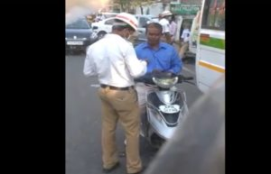 Hyderabad Cop Video Goes Viral on Social Media with 5 Lakh Plus Views