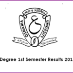 OU Degree 1st Semester Results 2017 (Declared) For BA/B.Com/ BSC @ Manabadi.com, Osmania.ac.in