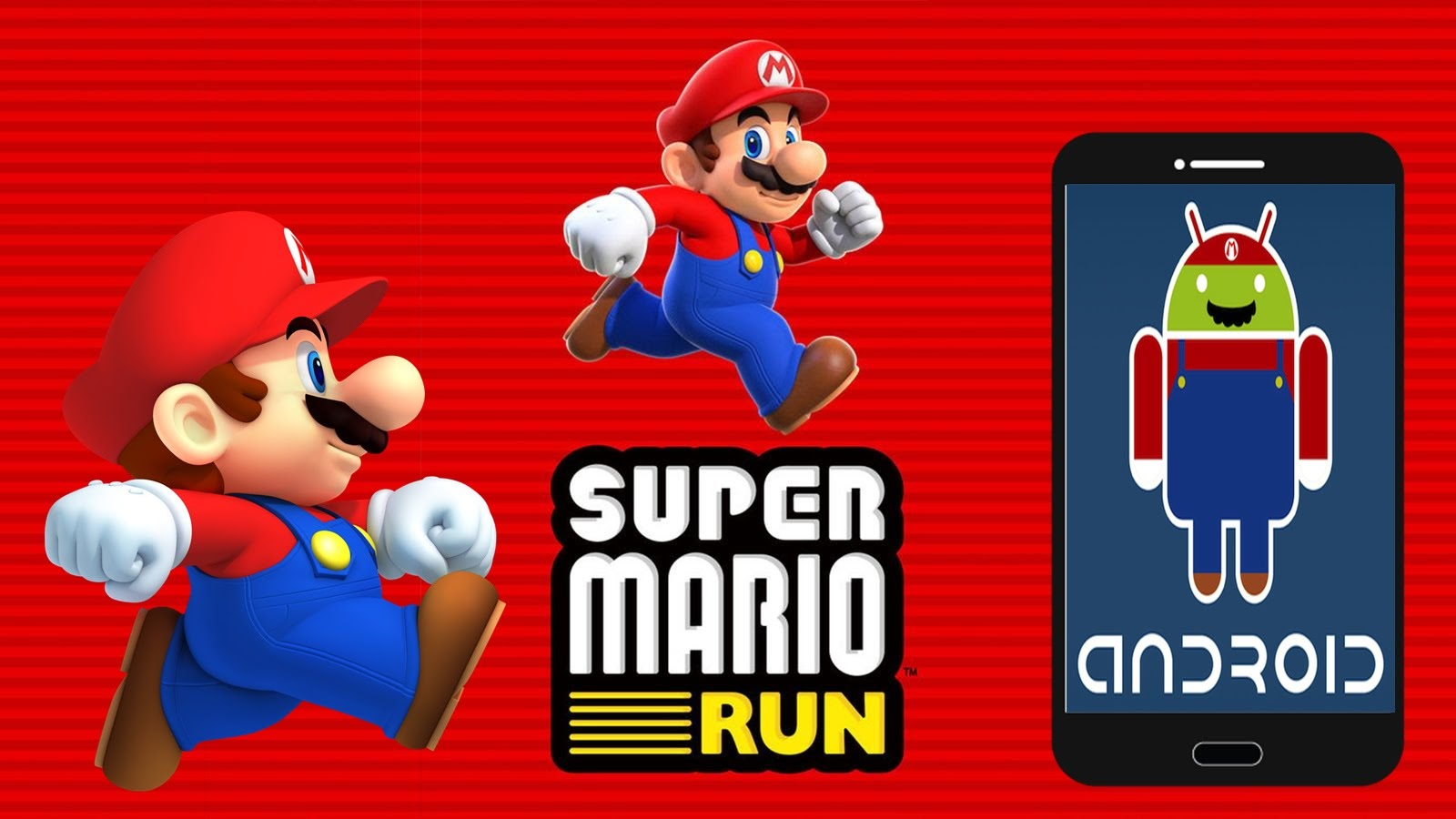 Super Mario Run for Android is Now Available