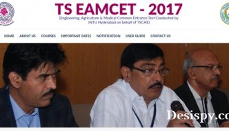 TS EAMCET Results 2017 Released @ eamcet.tsche.ac.in – Manabadi Telangana EAMCET Rank Card, Cutoff Marks