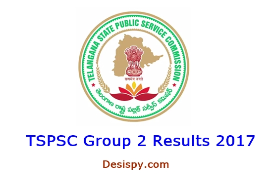 TSPSC Group 2 Results 2017