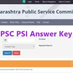 MPSC PSI Answer Key 2017 Released – Download Maharashtra Police Sub Inspector Answer sheet @ mpsc.gov.in