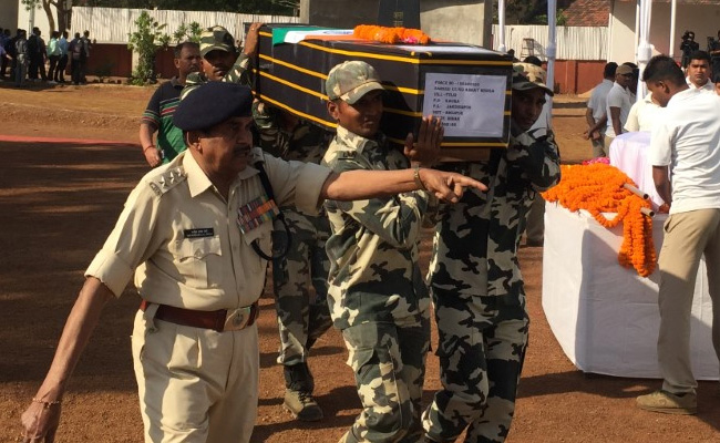 25 CRPF Men Killed By Hundreds of Maoists, 2 Km from Camp