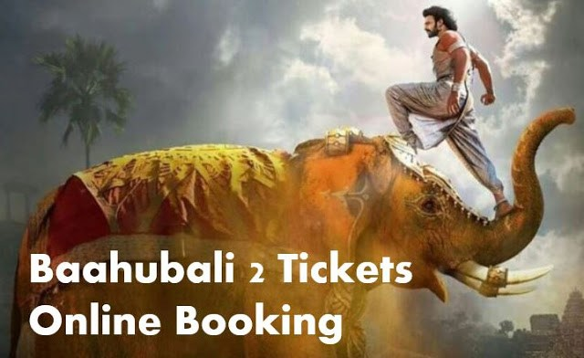 Baahubali 2 Online Ticket Booking Started