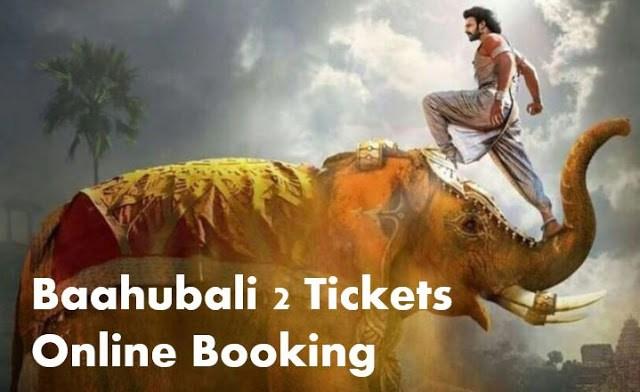 Movie Ticket In Us Baahubali  Now