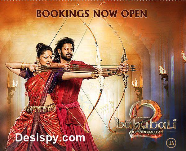 Baahubali 2 bookings now open