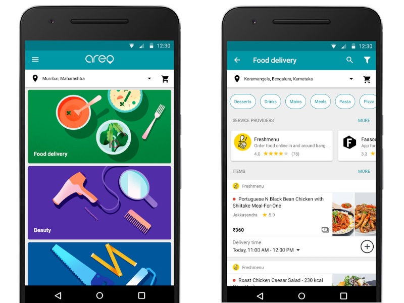 Google Areo App Launched in India; Bundles Bill Payments, Food Delivery, Local Services and More