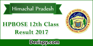 HPBOSE 12th Result 2017 Released – Check HP Board Class 12 Results Name wise @ hpbose.org