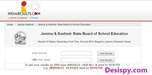 JKBOSE 12th Results 2017 Released – Check Jammu & Kashmir (Part Two) Annual Result Name Wise @ jkbose.co.in