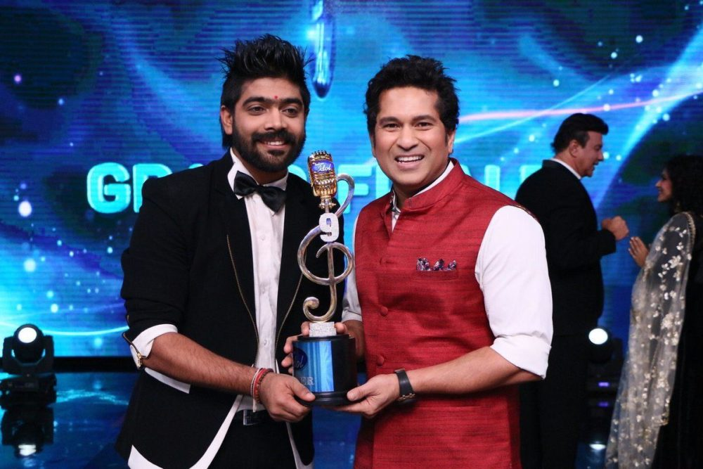 LVRevanth for winning the indianidol title
