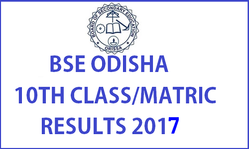 Check BSE Odisha HSC Result 2017 on www