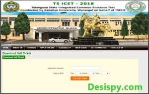 TS ICET Hall Tickets 2018 Download – Telangana ICET Admit Card @ icet.tsche.ac.in