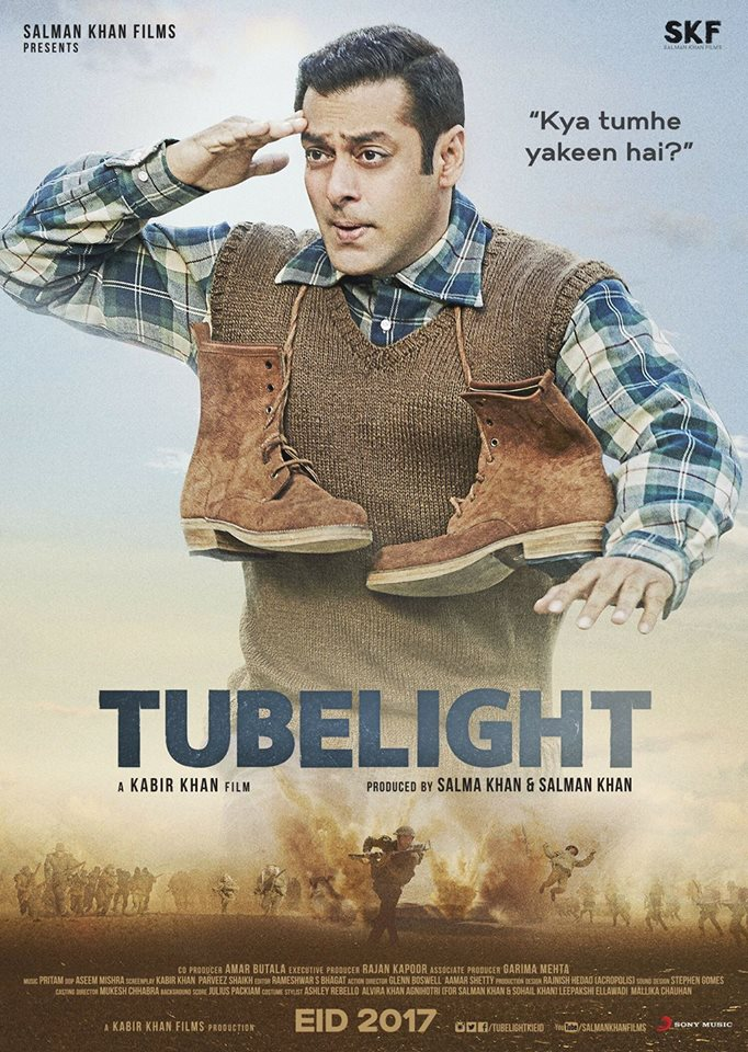 Tubelight Movie Second/ 2nd poster