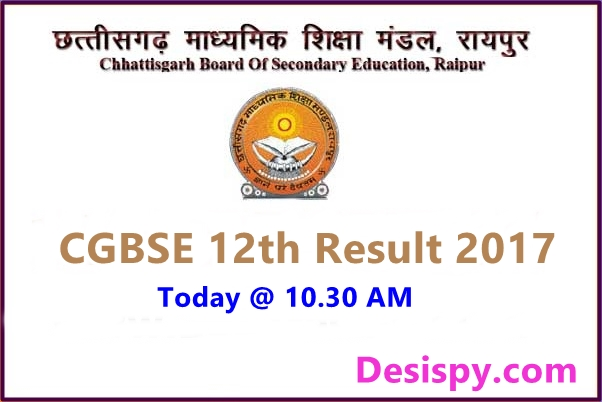 CGBSE 12TH Results and Marks Sheet