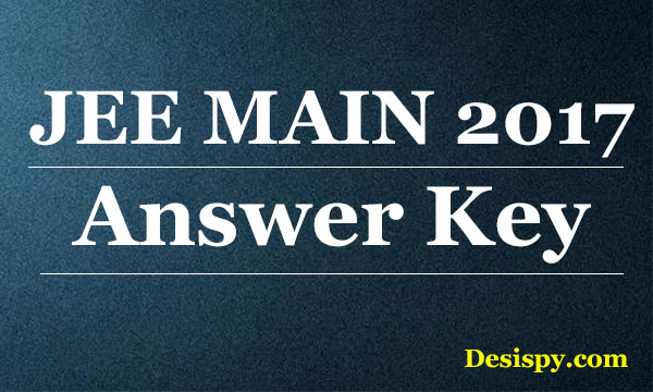 jee-main-2017-answer-key