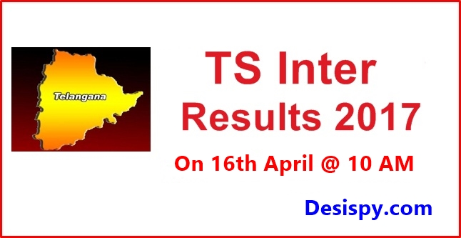 TS Inter 1st, 2nd Year Results 2017