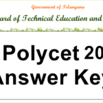 TS POLYCET 2018 Answer Key For SET A, B, C, D – Download Telangana CEEP Exam Question Paper @ Eenadu, Sakshi, polycetts.nic.in
