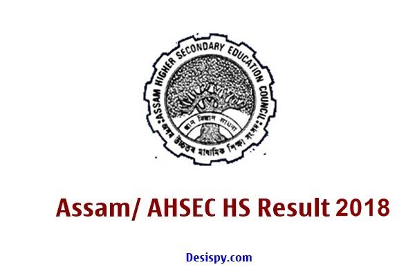 Assam HS Result 2018