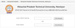 HPCET Result 2017 Released – Check Cutoff Marks, Merit List here @ himtu.ac.in, Indiaresults.com