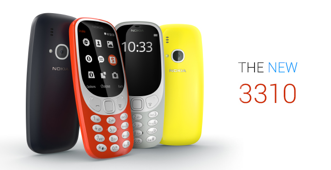 Nokia 3310 Launched in India, Priced at Rs 3,310