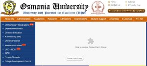 OU Degree Results 2017 (Released) for 1st 2nd 3rd Year for BA B.SC B.com BBA @ Manabadi.com, Osmania.ac.in