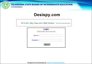 Telangana TS Inter 1st & 2nd Year Hall Tickets 2018 Download Center Name Wise @ tsbie.cgg.gov.in, Manabadi