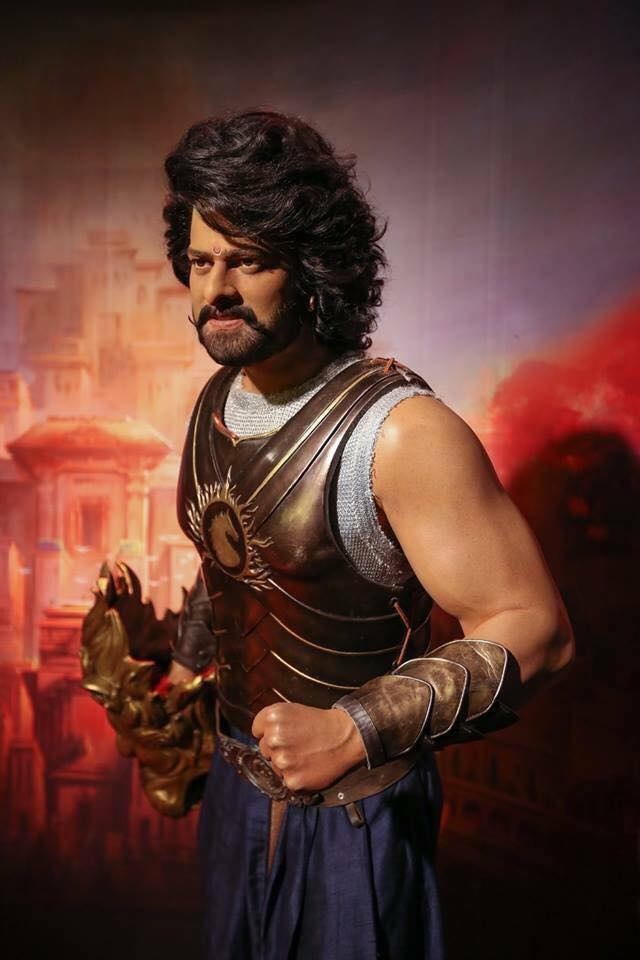 Prabhas Wax Statue at Madame Tussaud is beyond perfect