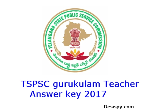 TSPSC Gurukulam Answer key 2017