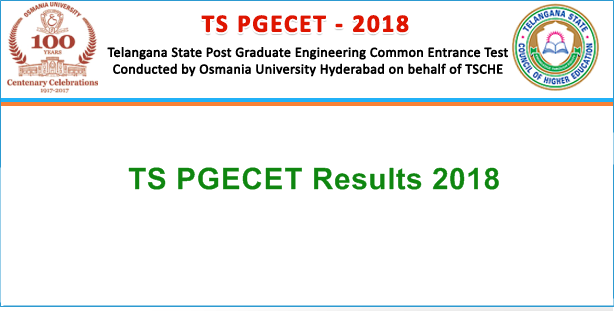 ts pgecet results 2018