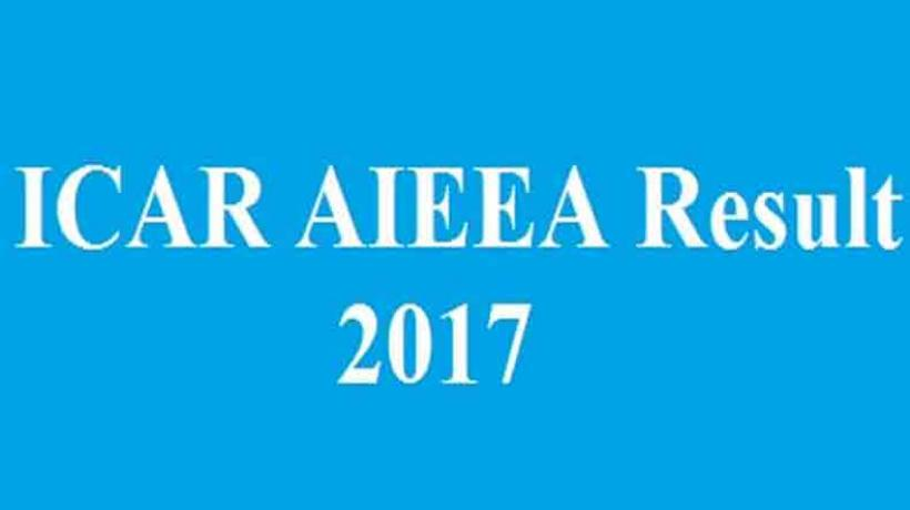 ICAR AIEEA 2017 UG & PG Results Out Today | Check Counselling Registration Details