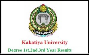 Kakatiya University Degree Results 2017 for B.Com., BA, B.Sc., BBM Released – Download @ Kakatiya.ac.in