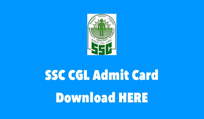 SSC CGL Tier 1 Admit Card 2017 Released @ ssc.nic.in - Check CGL Tier-I Exam Dates, Venue & Time
