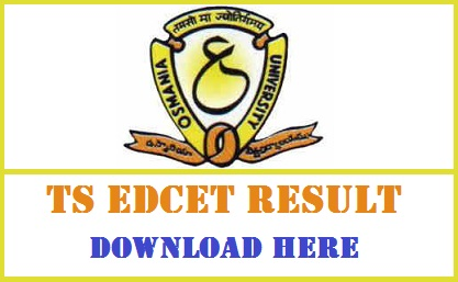 TS EdCET Result 2017 & Merit List Released - Check Telangana B.Ed Cut off Marks @ tsedcet.org