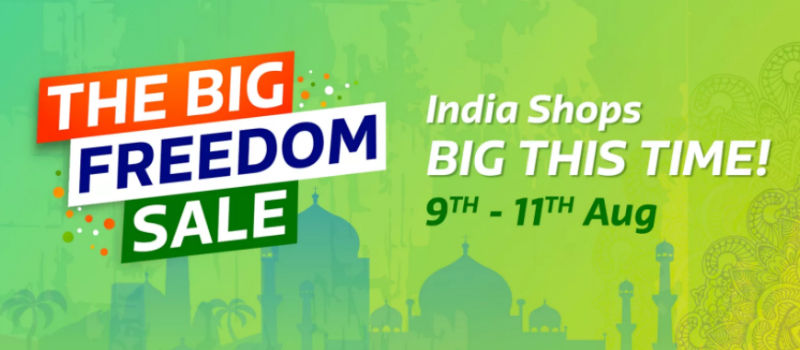 Flipkart 'The Big Freedom Sale 2017' – Special Discounts on iPhone 6, Redmi Note 4, and Others