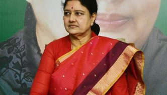 VK Sasikala was allowed to leave the prison by the Jailers – Check the Video Here