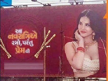Sunny Leone's 'Sex During Navratri' Condom Ad Creating Controversy – Leaving Culture Values at Stake
