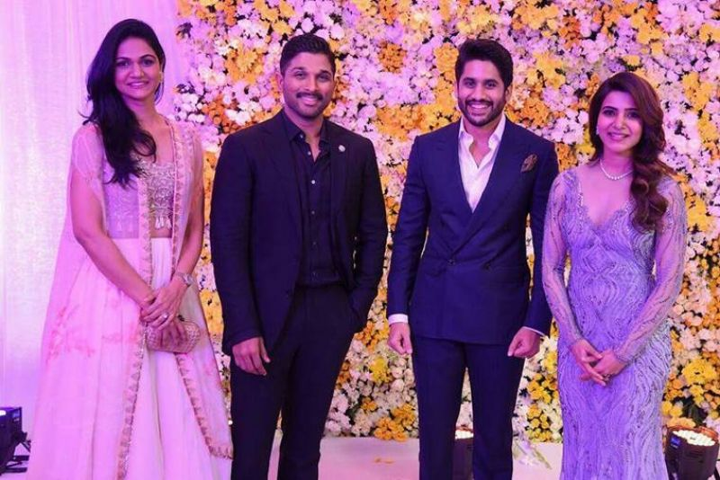 Samantha Naga Chaitanya Reception Photoes