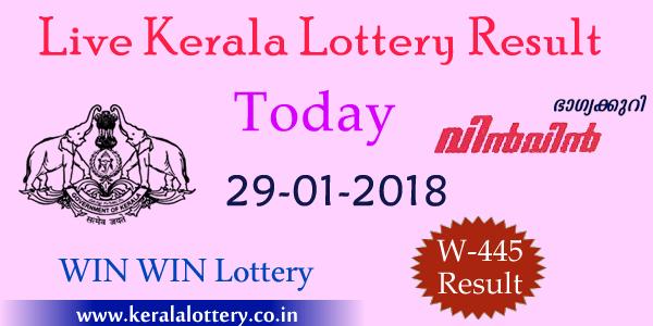 Win Win W 445 Lottery Results, Winners List PDF