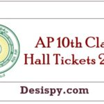 AP 10th Class Hall Tickets 2019