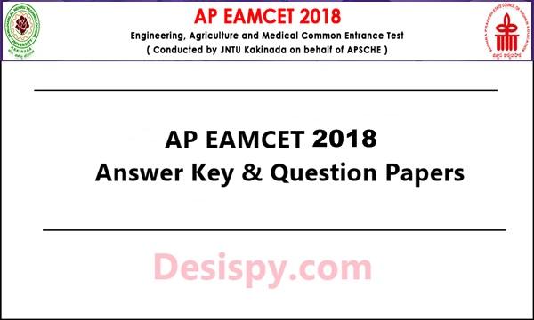 AP EAMCET Answer Key 2018