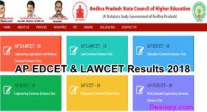AP EDCET & LAWCET Results 2018 – Check Manabadi EdCet/ Lawcet Result, Rank Card @ sche.ap.gov.in